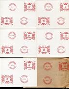 GREAT BRITAIN METER SPECIMENS PITNEY  BOWES 1961 - 1952-.... (Elizabeth II)