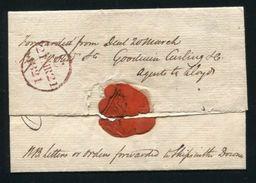 GREAT BRITAIN KENT MARITIME 1820 FORWARDING AGENT - 1902-1951 (Kings)