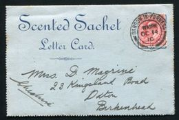 GB 1910 ADVERTISING LETTER CARD SOAP BARROW - Postmark Collection