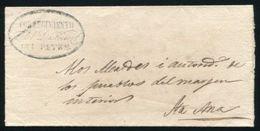 GUATEMALA 1852 PETEN TO SANTA ANA - Guatemala