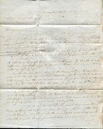 MEXICO GUAYMAS SONORA MANCHESTER GREAT BRITAIN UNIFORM 4d POST 1839 - Mexico