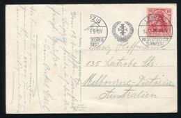 GERMANY ATHLETICS FESTIVAL LEIPZIG X11 TURNFEST 1913 - Germany