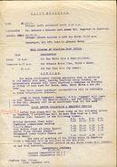 KHARTOUM POST OFFICE NOTICE 1906 - Africa (Other)