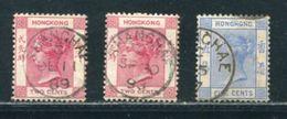 BRITISH CHINA SHANGHAI HONG KONG QUEEN VICTORIA - Hong Kong (...-1997)