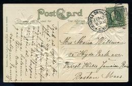 USA VALENTINE POSTCARD - Postal History