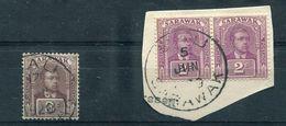SARAWAK BAU POSTMARK GOLD MINING 1920 - Sarawak (...-1963)