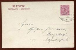 SCHLESWIG STATIONERY BAHNPOST HAMBURG 1920 - Germany