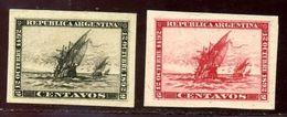ARGENTINA COLUMBUS 1892 COLOUR TRIALS - Argentina