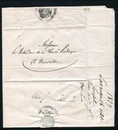 CYPRUS DISINFECTION 1839 MARITIME MARSEILLE FRENCE CONSULATE LARNACA - Cyprus (...-1960)