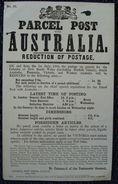 GREAT BRITAIN AUSTRALIA PARCEL POST OFFICE NOTOICE VICTORIA 1888 - 1840-1901 (Victoria)