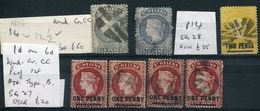 ST HELENA QUEEN VICTORIA 1876 GREAT USED SELECTION - Saint Helena Island