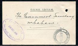 SWAZILAND 1931 OHMS POSTAL STATIONERY - Swaziland (...-1967)