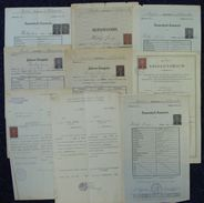 CZECHOSOLOVAKIA LION EDUCATION SCHOOL UNIVERSITY FISCALS 1919/31 - Czech Republic