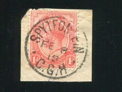SOUTH AFRICA CAPE SPYTFONTEIN RAIL KIMBERLEY MODDER RIVIER 1918 RARE! - South Africa (...-1961)