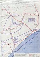 SOMALILAND WORLD WAR TWO MAP JULY 1941 - Somalia (1960-...)