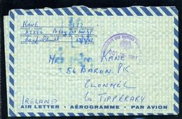 UNITED NATIONS AIRLETTER/CONGO 1961/IRELAND - Stamps