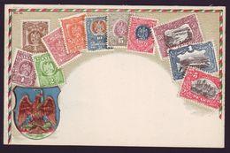 MEXICO EAGLE 1899 SERIES POSTCARD - Mexico