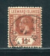 LEEWARD ISLANDS GEORGE FIFTH ANTIGUA RARE VILLAGE POSTMARK - Leeward  Islands