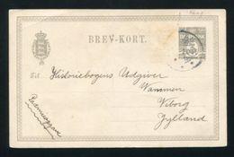 DENMARK STATIONERY FAEROE ISLANDS VAAG 1912 - Denmark