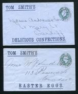 GB KING EDWARD SEVENTH STATIONERY EASTER EGGS TOM SMITH - Postmark Collection