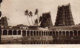 Cpa 1931 ; Mission Du Maduré, étang Sacré Du Lotus D'or Dans La Pagode De Maduré  (49.52) - Inde