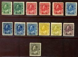 CANADA KING GEORGE V 1911-22 MINT - Canada