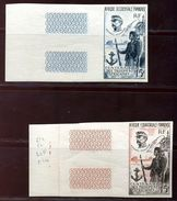 FRENCH EQUATORIAL AFRICA PROOFS 1957 AIR - Europe (Other)