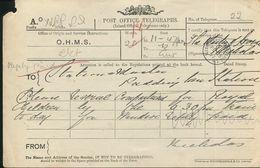 GREAT BRITAIN OHMS STATIONERY TRAINS PADDINGTON WINDSOR CHILDREN HORSE 1897 - Postmark Collection