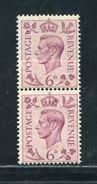 GB GEORGE 6TH JOINED PAPER VARIETY 1937 - 1902-1951 (Kings)