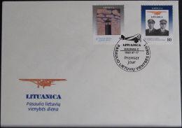 LITAUEN 1993 Mi-Nr. 529/30 FDC - Lituanie