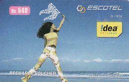 India Escotel Recharge Phonecard - India