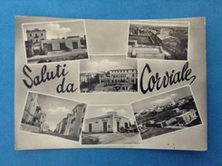 CARTOLINA FORMATO GRANDE VIAGGIATA - SALUTI DA CORVIALE ROMA - Roma