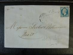 Lot Du 31.08.17_ LAC De Marans,PC Du GC Sur N°22, Illustré,a Voir!! - 1849-1876: Période Classique