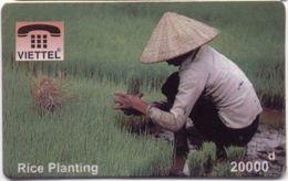 Vietnam - FAKE-VIET-1001,  Viettel, Rice Planting, Fake Phonecard - Vietnam