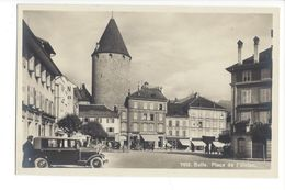 17487 - Bulle Place De L'Union Voiture - FR Fribourg