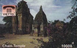 Vietnam - FAKE-VIET-1019, Viettel, Cham Temple, Fake Phonecard - Vietnam