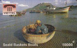 Vietnam - FAKE-VIET-1017, Viettel, Seald Baskets Boats, Fake Phonecard - Vietnam