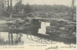 CAPPELLEN - KAPELLEN : Pont Au Chemin De Putte -,Cachet De La Poste 1906 - Kapellen