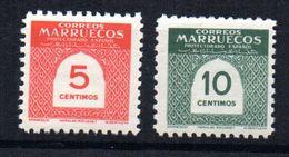 Serie Nº  382/3   Marruecos - Marocco Spagnolo