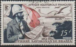 Africa Ecuatorial Francesa Aereo Usado U 55 (o) Foto Estandar. 1951 - A.E.F. (1936-1958)