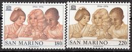 978 San Marino 1976  UNESCO Nuovo MNH  Full Set - UNESCO
