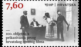 Kroatië / Croatia - Postfris / MNH - 100 Jaar Film 2017 - Croazia