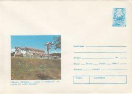 TOURISM, STEJARUL CHALET, COVER STATIONERY, ENTIER POSTAL, 1980, ROMANIA - Holidays & Tourism