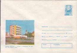 TOURISM, NADLAC INN, COVER STATIONERY, ENTIER POSTAL, 1980, ROMANIA - Holidays & Tourism