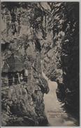Rofflaschlucht - Felsgallerie Mit Erstem Tunnel - Photo: Andr. Hane - GR Grisons