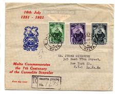 Carta De Malta De 1951. - Malta