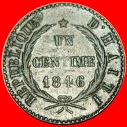 § FRANCE: HAITI ★ 1 CENTIME 43 - 1846! LOW START★ NO RESERVE! - Haiti