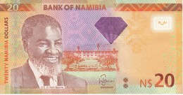 BILLETE DE NAMIBIA DE 20 DOLLARS DEL AÑO 2013 EN CALIDAD EBC (XF) (BANKNOTE) GACELA-DEER - Namibia