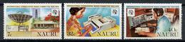 1979 - NAURU - Catg. Mi. 195/197 - NH - (R-SI.331.713 -  55) - Nauru