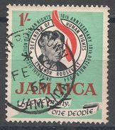 Jamaica 1964. Scott #239 (U) Eleanor Roosevelt (1884-1962) - Jamaique (1962-...)